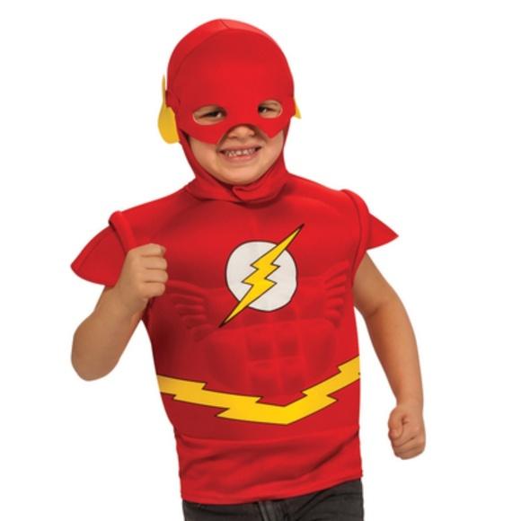 DC Comics Boyu0027s Size S Flash Costume